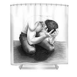 Cry Me A River Shower Curtain by Murphy Elliott