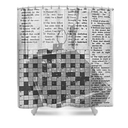 Cryptographers Wanted Shower Curtain