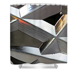 Crystal Abstract 5 Shower Curtain