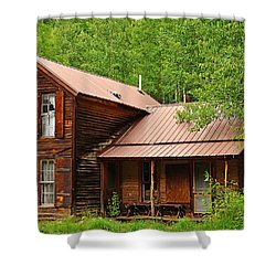 Crystal Cabin Shower Curtain