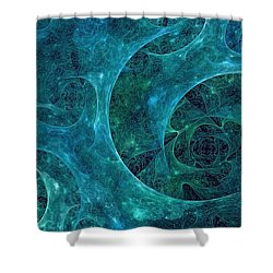 Crystal Nebula-ii Shower Curtain