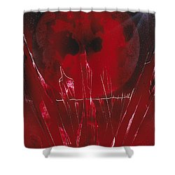 Crystal Planet Shower Curtain