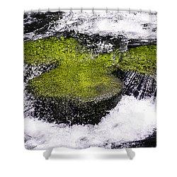Crystal Water  Shower Curtain by Sotiris Filippou