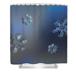 Shower Curtain featuring the photograph Crystals Of Day And Night by Alexey Kljatov
