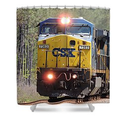 Csx 7363 Shower Curtain
