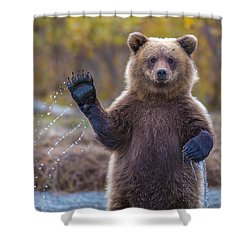 Cub Scouts Honor  Shower Curtain