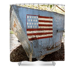 Cuban Refugee Boat 4 Shower Curtain