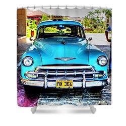 Cuban Taxi			 Shower Curtain