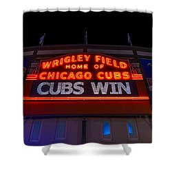 Cubs Win Shower Curtain