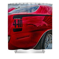Cuda Shower Curtain