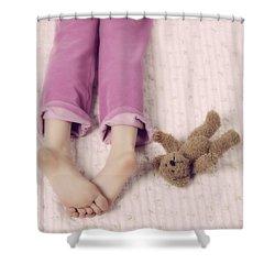 Cuddle Shower Curtain by Joana Kruse