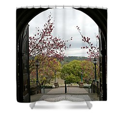Culinary Institute Of America At Greystone Shower Curtain