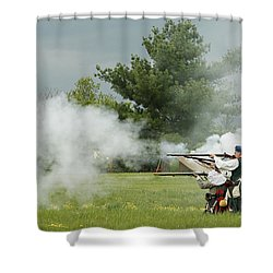 Shower Curtain featuring the photograph Culloden Jacobites by Carol Lynn Coronios