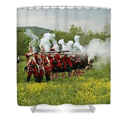 Culloden Loyalists Shower Curtain
