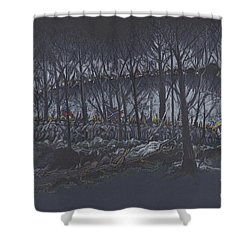 Culp's Hill Assault Shower Curtain