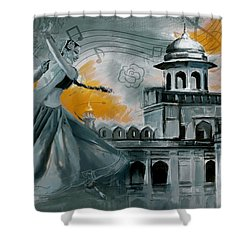 Cultural Dancer 2 Shower Curtain by Catf