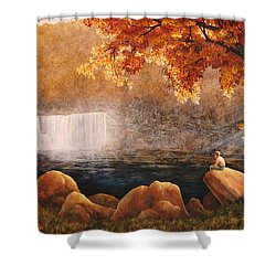 Cumberland Falls Shower Curtain