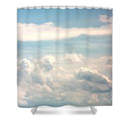Cumulus Clouds Shower Curtain