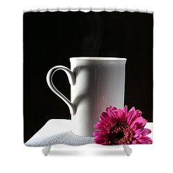 Cup Of Love Shower Curtain by Randi Grace Nilsberg