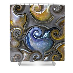 Curlicue II Shower Curtain
