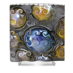 Curlicue IIi Shower Curtain