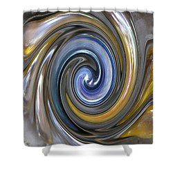 Curlicue Twirl Shower Curtain