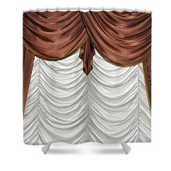 Curtain Shower Curtain by Matthias Hauser