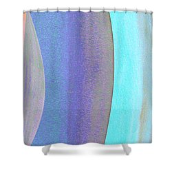 Curves1 Shower Curtain