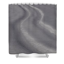 Curvy Shower Curtain by Jane Ford