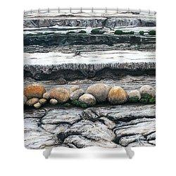 Cushion Bush Dam Shower Curtain by Lyndsey Hatchwell