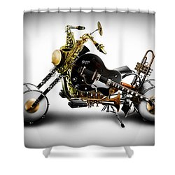 Custom Band II Shower Curtain