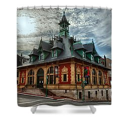 Customs House Museum Shower Curtain