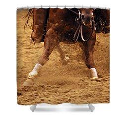 Cutting Horse 6 Shower Curtain