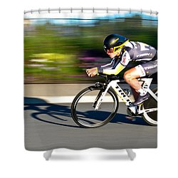 Cycling Prologue Shower Curtain