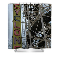 Cyclone - Roller Coaster Shower Curtain