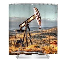 Cymric Field IIi Shower Curtain by Lanita Williams