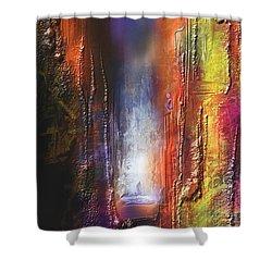 Cythere Shower Curtain by Francoise Dugourd-Caput