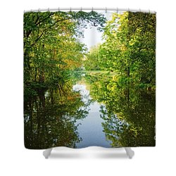 D And R Canal  Shower Curtain