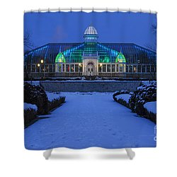D5l-280 Franklin Park Conservatory Shower Curtain