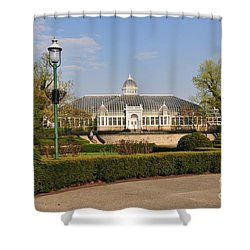 D5l311 Franklin Park Conservatory Shower Curtain