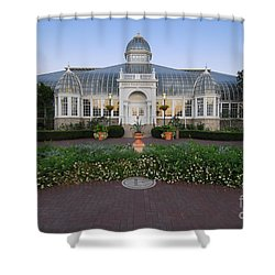 D5l-79 Franklin Park Conservatory Shower Curtain