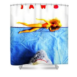 Da Dum...da Dum... Shower Curtain