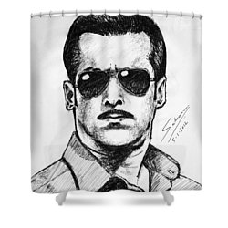 Salman Khan Shower Curtain