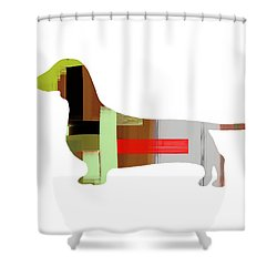 Dachshund Shower Curtain Dachshund. Naxart Studio