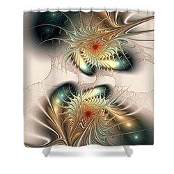 Daemons Within Shower Curtain by Anastasiya Malakhova