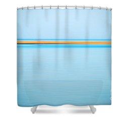 Dahab - Red Sea Shower Curtain by Hannes Cmarits