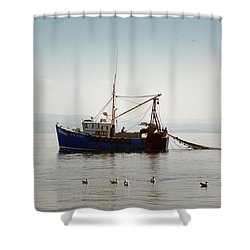 Daily Catch Shower Curtain