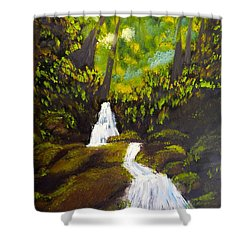 Daintree Natural Park Shower Curtain