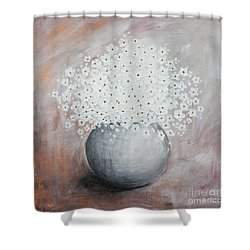Daisies Shower Curtain by Home Art
