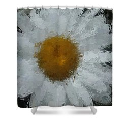 Shower Curtain featuring the digital art Daisy Delight by Anthony Fishburne